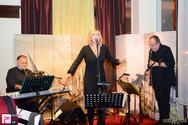Θάνος Μικρούτσικος και Ρίτα Αντωνοπούλου στο Ηotel Ναύπακτος 14-11-15