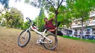 Στη Κροατία ο ποδηλάτης που ξεκίνησε από την Πάτρα για τον 'γύρο του κόσμου'! (pics)