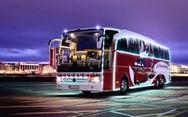 Η Mercedes κυκλοφόρησε χριστουγεννιάτικο λεωφορείο (pic+video)
