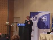 Η ομιλία του Δημάρχου Πατρέων Κώστα Πελετίδη στην ΚΕΔΕ