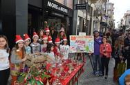 Πάτρα: Μία ξεχωριστή Χριστουγεννιάτικη γιορτή στον Πεζόδρομο της Ρήγα Φεραίου