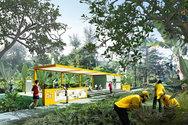 Ο σιδηροδρομικός σταθμός που μετατράπηκε στο πιο πράσινο πάρκο (pics)