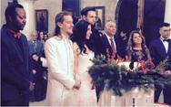 Παντρεύτηκε η Μελίνα Μακρή των Vegas (pics+vids)