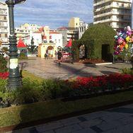 Γιορτινό κλίμα στο κέντρο της Πάτρας παραμονή Χριστουγέννων (pics)