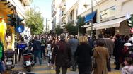 Πάτρα: Η αγορά 'πλημμύρισε' από κόσμο τις δύο τελευταίες Κυριακές του χρόνου