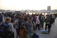 3.600 μετανάστες έφτασαν το πρωί στον Πειραιά