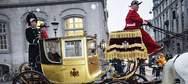 Χρυσή άμαξα 24 καρατίων χρησιμοποιεί η βασίλισσα της Δανίας (pics)