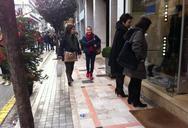 Πάτρα: Πτώση της τάξεως του 10% την εορταστική περίοδο στα εμπορικά μαγαζιά