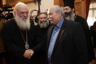 Συνάντηση του Προέδρου της Βουλής με τον Αρχιεπίσκοπο Αθηνών (pics)