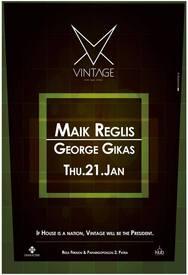 George Gikas - Maik Reglis στο Vintage
