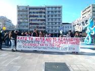 Πάτρα: Ολοκληρώθηκε το συλλαλητήριο του ΠΑΜΕ ενάντια στο ασφαλιστικό