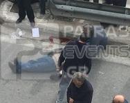 Πάτρα: Σφοδρή σύγκρουση με Ι.Χ και μηχανάκι -Τραυματίστηκαν δύο άτομα