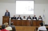Πάτρα: Στα γραφεία του ΣΕΒΠΔΕ ο πρόεδρος του ΟΣΕ Παναγιώτης Θεοφανόπουλος