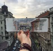 Ieva Ozola: Αποτυπώνει σε χαρτί μέρη που επισκέπτεται (pics)