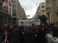 Εξαιρετικά επιτυχημένη η απεργία και η πορεία του ιατρικού κόσμου της Πάτρας (pic)