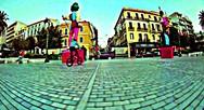 Μοναδικά κόλπα με ένα ποδήλατο στους δρόμους της Πάτρας (video)