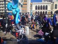 Όταν ο πάγος λιώνει και γίνεται έμπνευση μπροστά στη θέρμη του Πατρινού Καρναβαλιού (pics)
