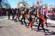 Πάτρα - Ζωντάνεψαν τα παιδικά καρναβαλικά όνειρα στην πλατεία Αρόης (pics)