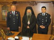 Στην Μητρόπολη Πατρών ο Αστυνομικός Διευθυντής Δυτικής Ελλάδας, Φ. Τσόλκας (pic)