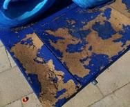 Πάτρα: Έκαναν φθορές στις καρναβαλικές κατασκευές στην πλατεία Γεωργίου (pics)