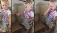 Το κοριτσάκι που ''μεταμόρφωσε'' σε ζέβρα την αδερφή της γιατί... αγαπά τις ζέβρες (pics+video)