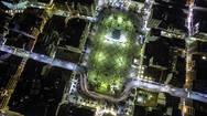 Σούπερ φωτό - Δείτε την πλατεία Γεωργίου της Πάτρας από… άλλη διάσταση