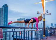 Ο Ιωάννης Μελισσανίδης κάνει ενόργανη γυμναστική σε γέφυρα! (pics)