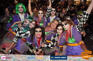 Με το 'σατανικό' τους χαμόγελο και πολλή διάθεση για πειράγματα οι Jokers του Καρναβαλιού!