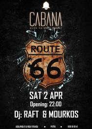 Route 66 στο Cabana