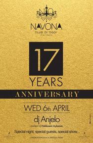 17 Years Anniversary at Navona Club di Oggi