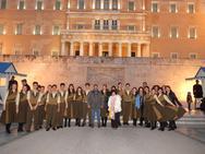 Εντυπωσίασε το Χορευτικό Τμήμα του Δήμου Πατρέων στο Σύνταγμα (video)