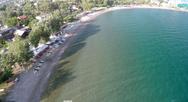 Aerial view στις παραλίες της Πάτρας με φόντο το καλοκαίρι - Δείτε το video