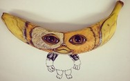 Καλλιτέχνης μετατρέπει μπανάνες σε έργα τέχνης (pics)