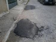 Πάτρα: Σε κακή κατάσταση οι δρόμοι της Αρόης