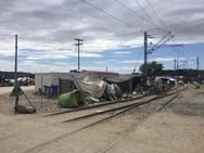 Με επιτυχία εκκενώθηκε η Ειδομένη - Άνοιξε η σιδηροδρομική γραμμή (pics)