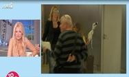 Ο Κώστας Κόκλας στην αγκαλιά του γιου του μετά το έμφραγμα (video)