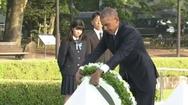 Ιστορική επίσκεψη Ομπάμα στη Χιροσίμα! (pics+video)