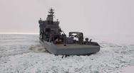 Όταν ένα παγοθραυστικό ανοίγει δρόμο στα παγωμένα νερά της Φιλανδίας (video)