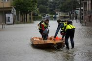 Γαλλία: Μειώθηκε στο «πορτοκαλί» ο κίνδυνος πλημμυρών για τη μισή Νορμανδία