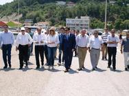 Ηλεία: Η Φώφη Γεννηματά ξεναγήθηκε στο λιμάνι του Κατακόλου (pics)