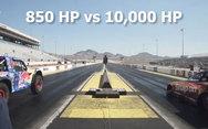 Ποια η διαφορά μεταξύ 850 ίππων και 10.000 ίππων; (video)