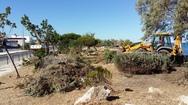 Πάτρα: Τα συνεργεία του Δήμου καθάρισαν το πάρκο του Κόκκινου Μύλου (pics)