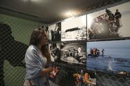 Την έκθεση φωτογραφίας για το προσφυγικό δράμα εγκαινίασε ο Πρόεδρος της Βουλής