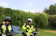 Με σκούτερ από το Λουξεμβούργο στα Λεχαινά (pics)