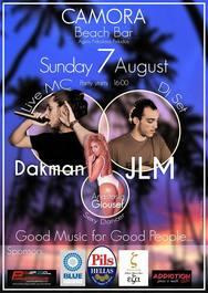 Dakman - JLM at Camora Beach Bar