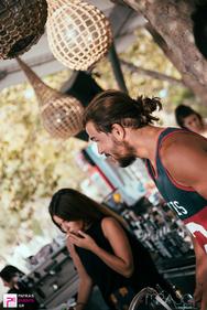 Dj George Verriopoulos at Mirasol 03-08-16