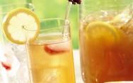 Φτιάξτε παγωμένο τσάι με λεμόνι