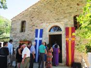 Το αρχαιότερο βυζαντινό μνημείο της Ηλείας άνοιξε και πάλι τις πύλες του