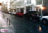 Πάτρα: «Φούσκωσαν» τα φρεάτια και σχηματίστηκαν «λίμνες» από την βροχή