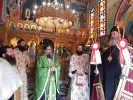 Πάτρα: Πανηγύρισε η Ιερά Μονή Προφήτου Ηλία την Ύψωση του Τιμίου Σταυρού (pics)